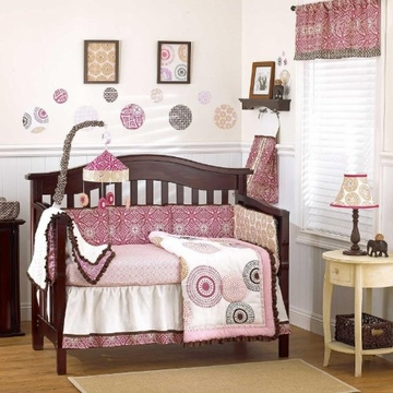 CoCaLo Iris 4-Piece Crib Set