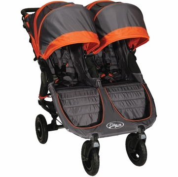 Baby Jogger City Mini GT Double 2013 Stroller Shadow / Orange