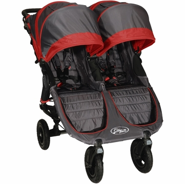 Baby Jogger City Mini GT Double 2013 Stroller Shadow / Crimson