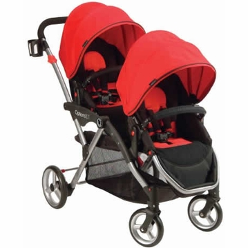 Contours Options LT Tandem Stroller - Crimson Red