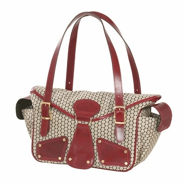 Mia Bossi Maria Diaper Bag Red Pepper