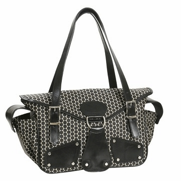 Mia Bossi Maria Diaper Bag Black Bean