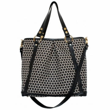 Mia Bossi Lyndsey Diaper Bag Black Bean