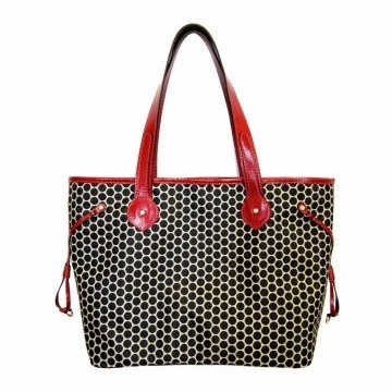 Mia Bossi Emma Diaper Bag Black Cherry