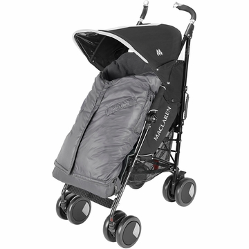 Maclaren Expandable Footmuff - Charcoal