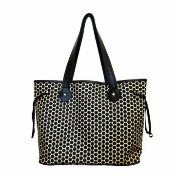 Mia Bossi Emma Diaper Bag Black Bean