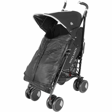 Maclaren Expandable Footmuff - Black