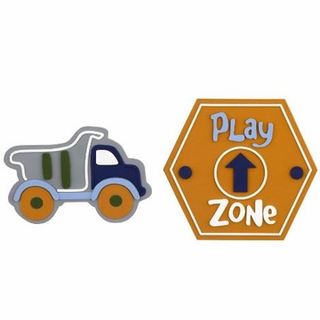 CoCaLo Play Zone 2-Piece Wall Plaques