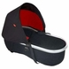 Phil & Teds Peanut Bassinet for Classic / Sport / Dash / Explorer / Hammerhead in Black/Red