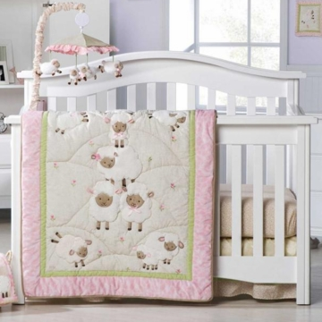 KidsLine Sweet Dreams 8-Piece Crib Set