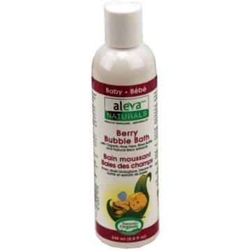 Aleva Naturals Berry Bubble Bath - 8oz/240ml