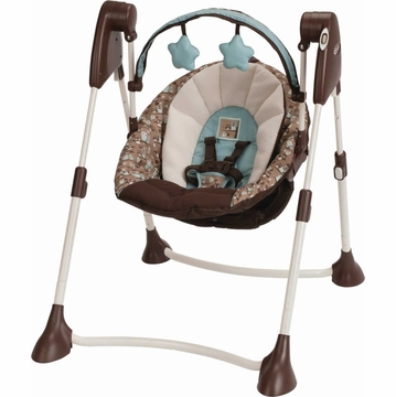 Graco Swing By Me Portable 2 -in-1 Swing - Little Hoot
