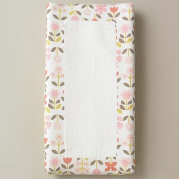 DwellStudio Rosette Blossom Changing Pad Cover