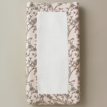 DwellStudio Vintage Blossom Blush Changing Pad Cover