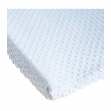 Carter's Super Soft Dot Changing Pad Cover in Blue