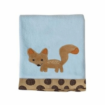 Lambs & Ivy Animal Antics Blanket