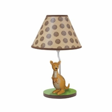 Lambs & Ivy Animal Antics Lamp with Shade & Bulb