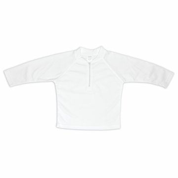iPlay Breatheasy SunPro Shirt - White - Small/Medium (6-12mo)