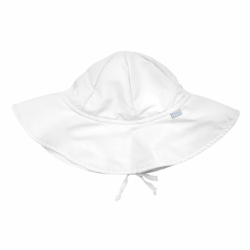 iPlay Solid Brim SunPro Hat - White - Newborn (0-6 mo)