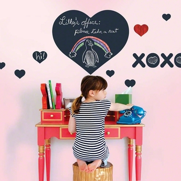 Wall Candy Chalkboard Heart Wall Decal