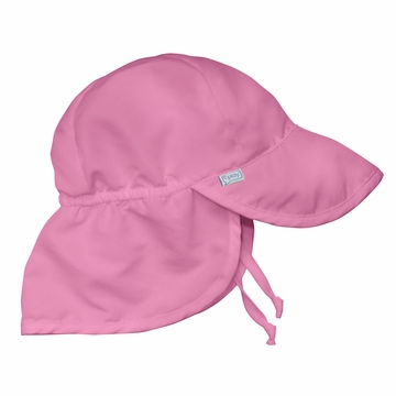 iPlay Solid Flap SunPro Hat - Hot Pink - Infant (6-18 mo)