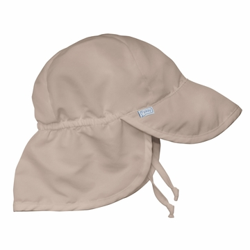 iPlay Solid Flap SunPro Hat - Khaki - Infant (6-18 mo)