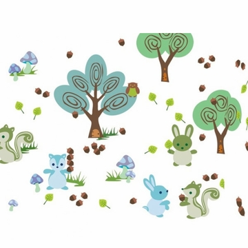 Wall Candy Forest Friends Wall Decals
