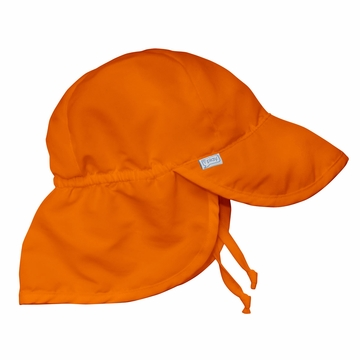 iPlay Solid Flap SunPro Hat - Orange - Toddler (2-4 years)