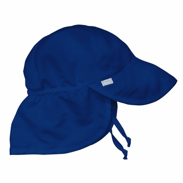 iPlay Solid Flap SunPro Hat - Royal - Toddler (2-4 yrs)