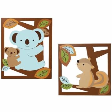 Lambs & Ivy Animal Antics Wall Decor