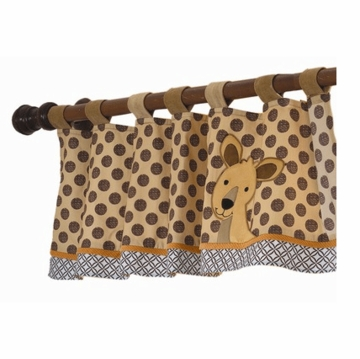 Lambs & Ivy Animal Antics Window Valance