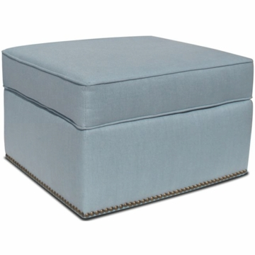 Jennifer Delonge Glam Ottoman with Nailheads