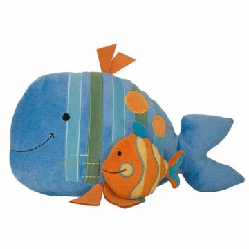 Lambs & Ivy Bubbles & Squirt Plush Fish