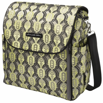 Petunia Pickle Bottom Boxy Backpack Citrine Roll