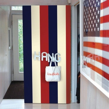 Wall Candy Stripe Americana Peel-and-Stick Wallpaper - Half Kit
