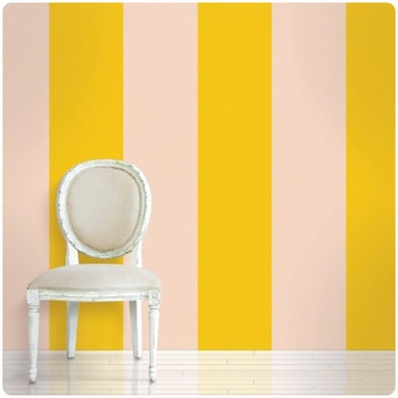 Wall Candy Stripe Sorbet Peel-and-Stick Wallpaper - Full Kit