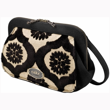 Petunia Pickle Bottom Cameo Clutch in Black Forest Cake