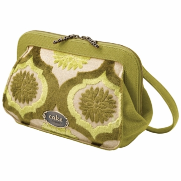 Petunia Pickle Bottom Cameo Clutch Key Lime Cream Cake