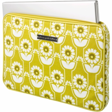 Petunia Pickle Bottom Carried Away Laptop Case in Sunlit Stockholm