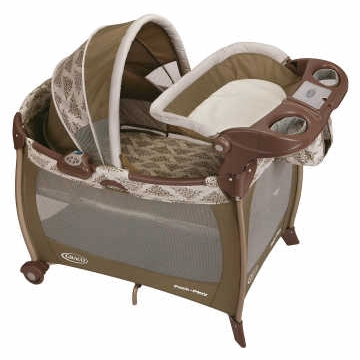Graco Baby Pack 'n Play Playard with Newborn Napper Station DLX - Farrow