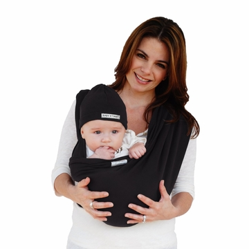 Baby K'Tan Baby Carrier in Basic Black - Extra Small