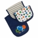 Gerber Boy 3 Pack Terry Burp Cloths - Little Sport