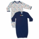 Gerber Boy 2 Pack Lap Shoudler Gowns - Little Sport