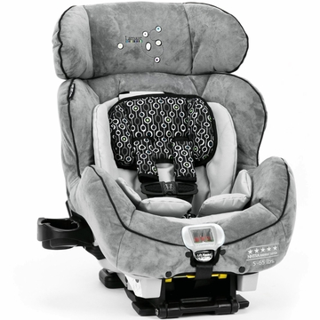 Lamaze True Fit C670 Premier Convertible Car Seat in Gray/Black