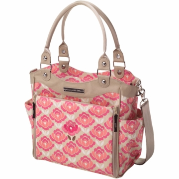 Petunia Pickle Bottom City Carryall in Flowering Firenze