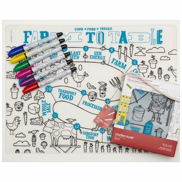 Modern Twist Farm to Table Kidz Box with 6 Markers