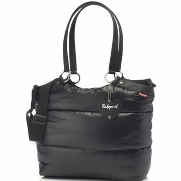 Babymel Camden Carry All Diaper Bag in Black
