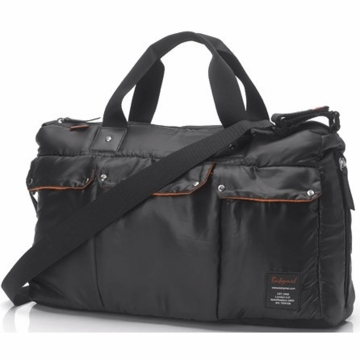 Babymel Soho Messenger Diaper Bag in Black