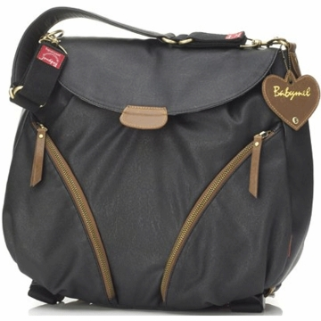 Babymel Ruby Rucksak Diaper Bag in Black