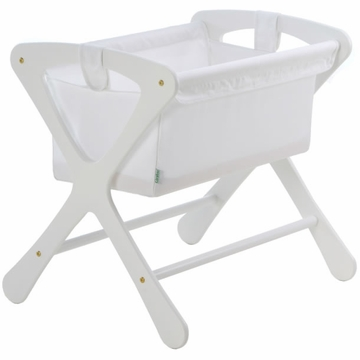 Cariboo Classic Bassinet in White